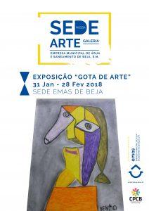 """""""Gota de Arte"""" @ Rua Conde da Boavista n.º 16  Apartado 83"""