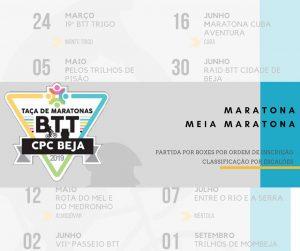 Taça de Maratonas BTT- CPCBeja/2019